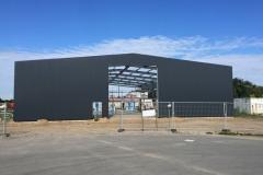 Neubau Bootshalle Stein