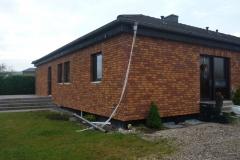 Sanierung einer Gebaeudefassade in Nortorf